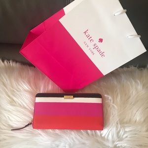 Kate Spade Neda Laurel Way Bonita Wallet